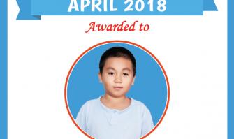 Học viên xuất sắc tạiAu Viettháng 4-2018