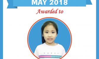 Học viên xuất sắc nhất tháng 5-2018