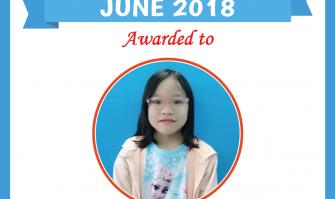 Học viên xuất sắc tháng 6-2018
