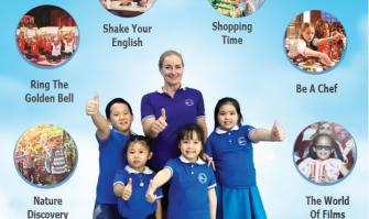 Chương trình tiếng Anh hè 2019 – SUMMERTASTIC 2019 tại Âu Việt.