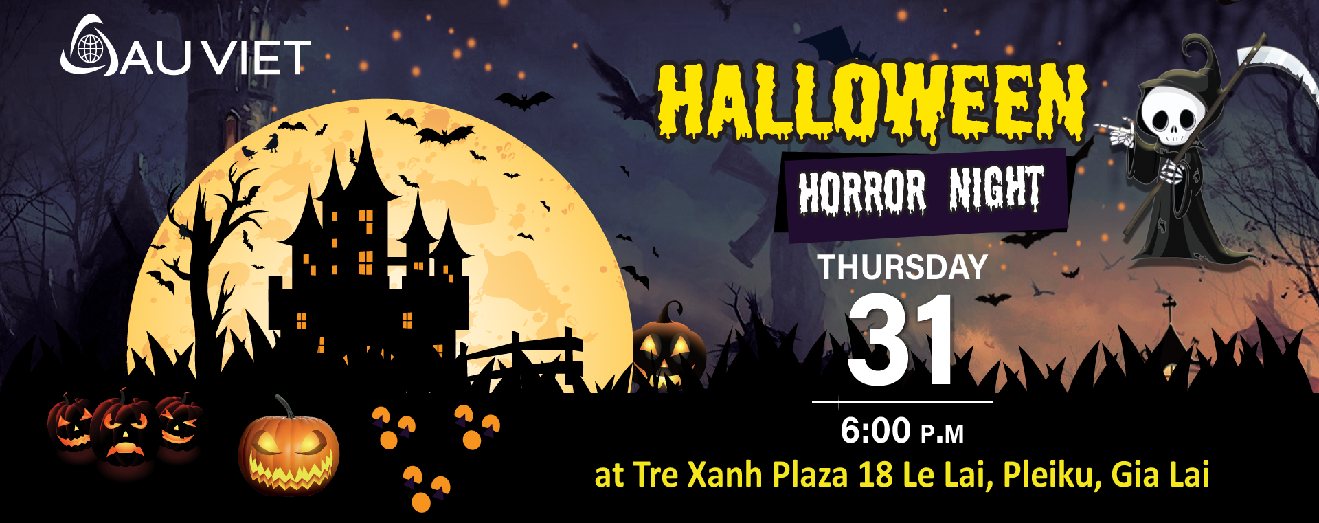Halloween horror night 2019 tại Tre Xanh Plaza – 31-10-2019