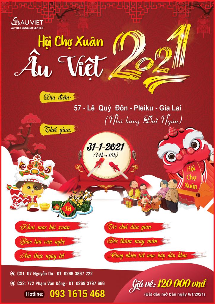 Hội Chợ Xuân Âu Việt 2021