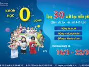 Khoá học 0 đồng – học không tính phí 2021
